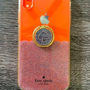 Shimmery Kate Spade iPhone XR case